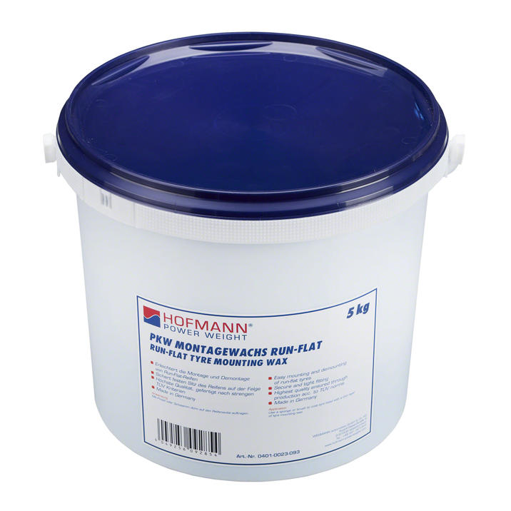 Tyre mounting paste Runflat and low profile Hofmann 5kg