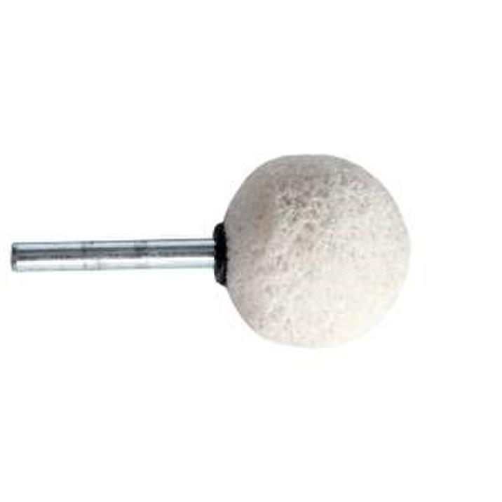 Limestone spherical with shaft  diam 38mm    Salv 371