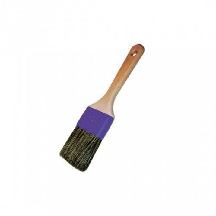 Flat brush for mounting paste