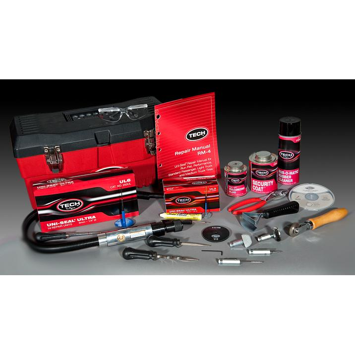 Tech 898 Performance tire repair-kit for car tyres